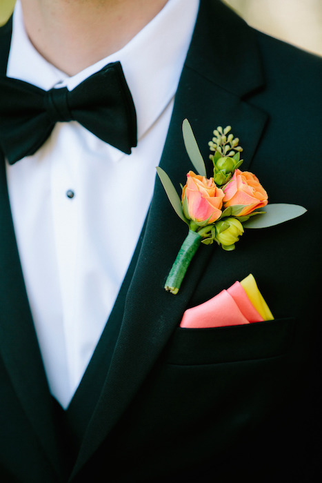 peach-and-yellow-pocket-square