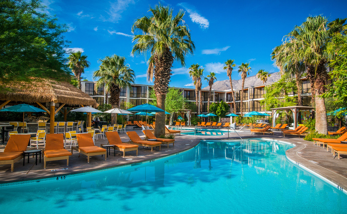 Pool at the Riviera Palm Springs