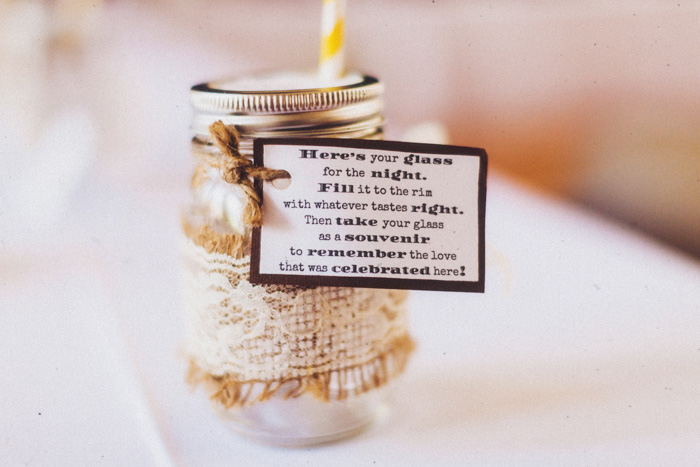 wedding favor label