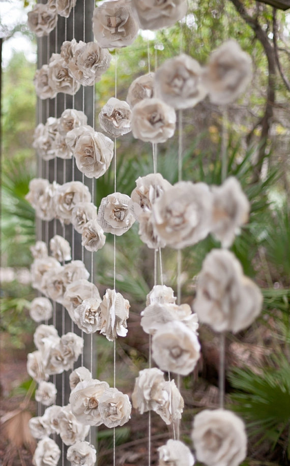wedding paper garlands