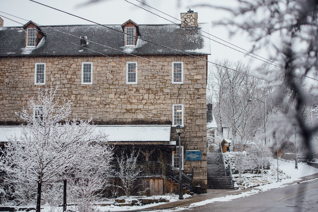 Ancaster Mill Winter Exterior Photography 2016