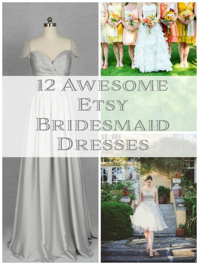 bridesmaid dresses etsy