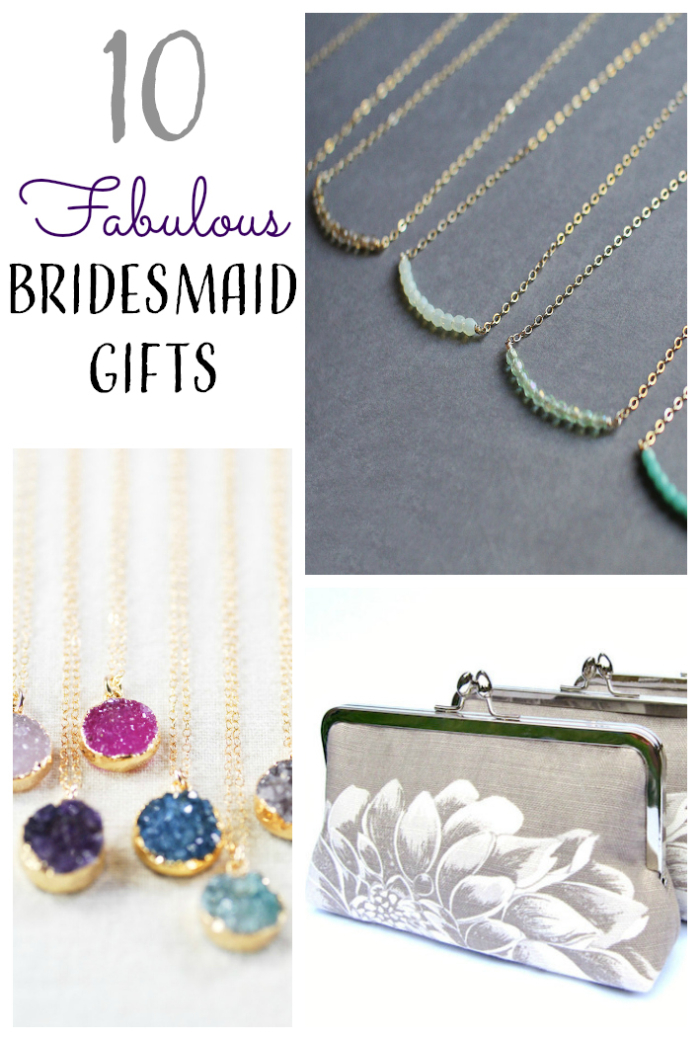 bridesmaid gift ideas  sc 1 st  Intimate Weddings & 10 Bridesmaid Gifts from Etsy