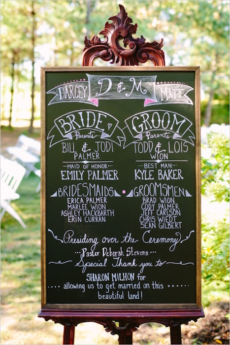 chalkboard-wedding-program