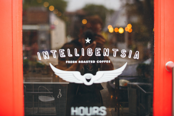 Intelligentsia Coffee sign