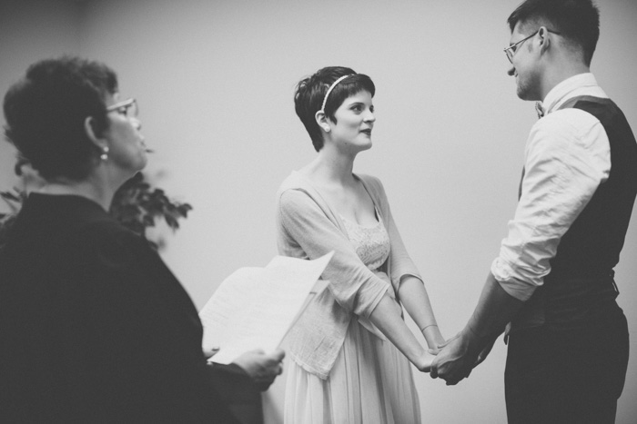 courthouse elopement ceremony