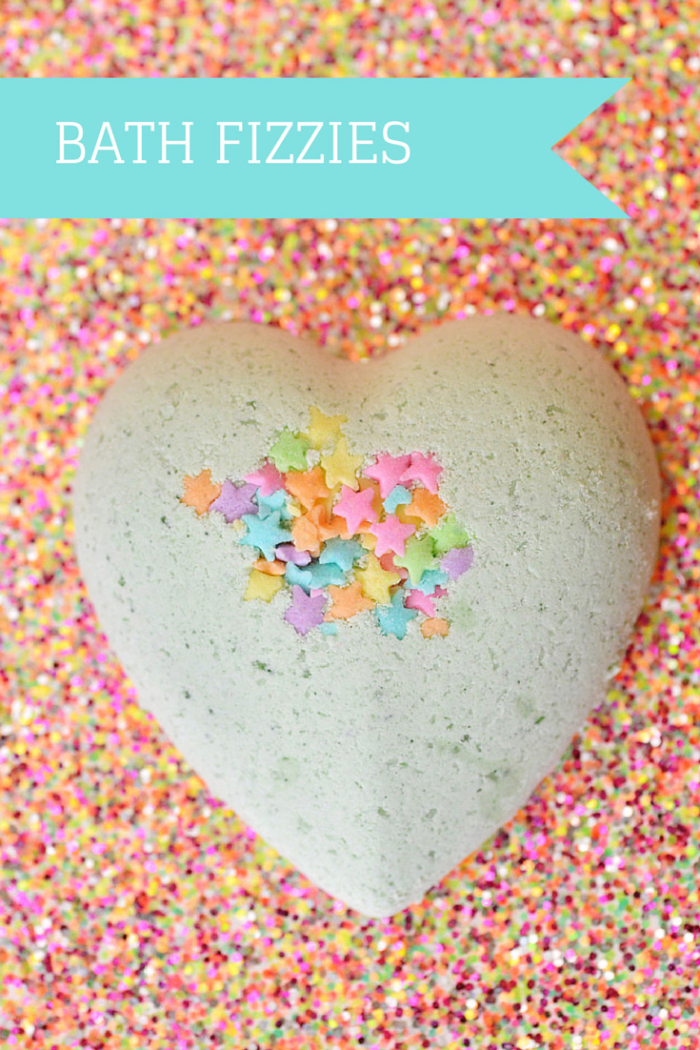 Diy Bath Fizzies With Sprinkles