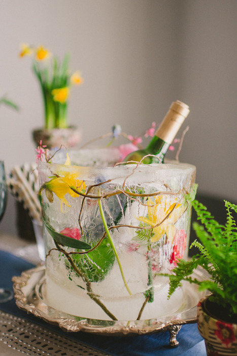 floral-ice-bucket