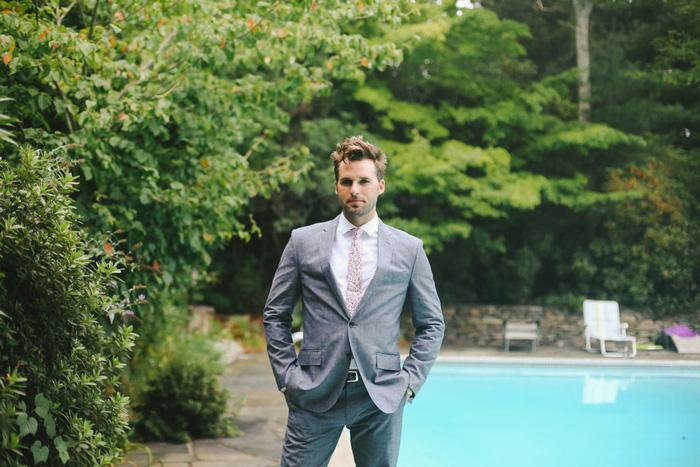 groom by the pool