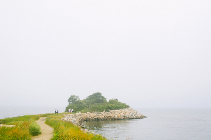 Cape Cod outdoor ceremony site