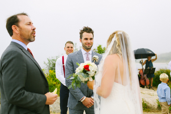 outdoor cape cod wedding ceremony
