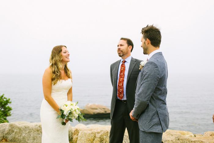 outdoor cape cod wedding ceremony