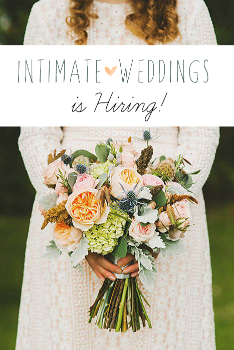 intimate weddings hiring