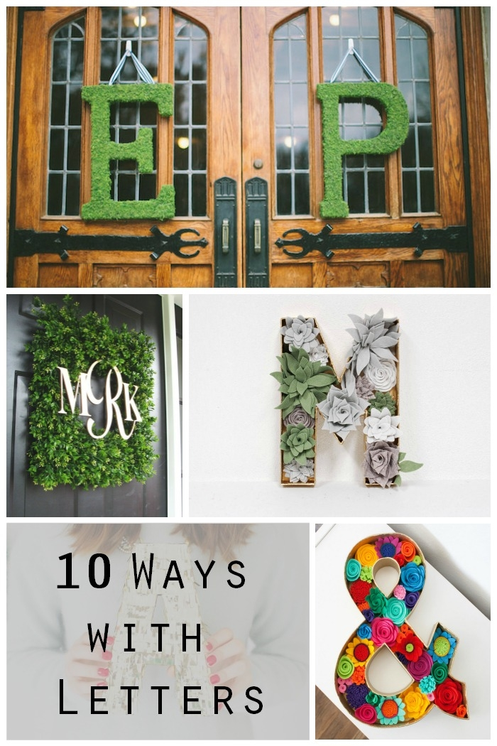 letter decor wedding - Letter Decor