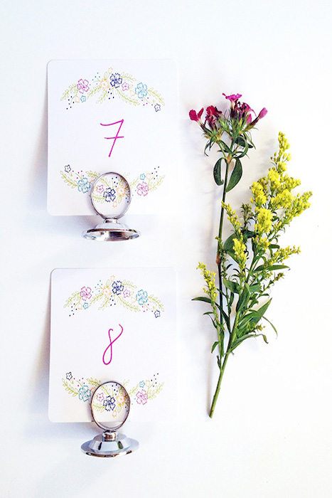 mini-floral-table-number