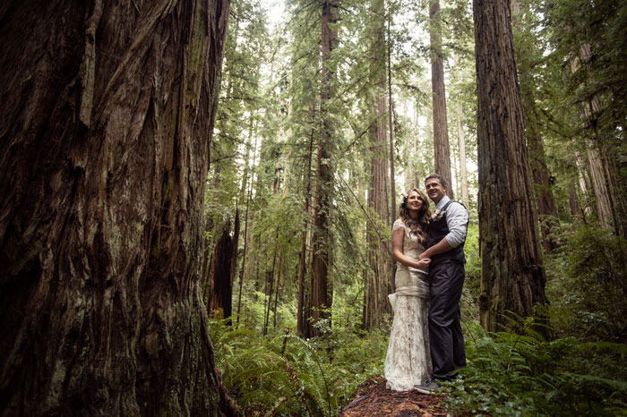 Oregon Treehouse Wedding