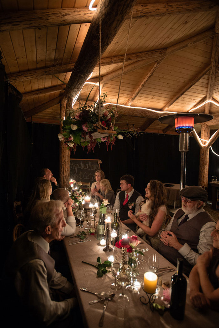 treehouse wedding reception