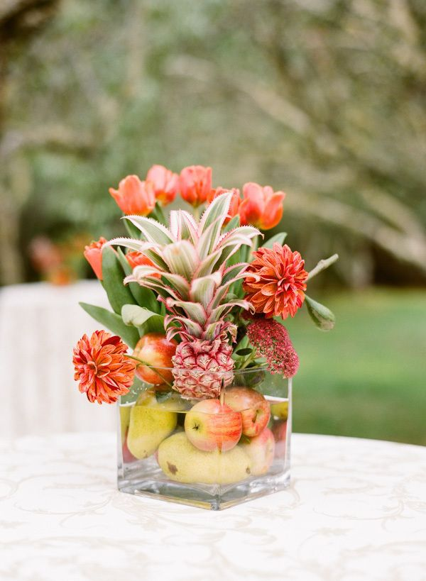 pineapple centrepiece