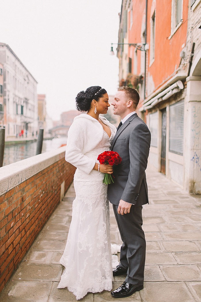 Venice wedding portrait