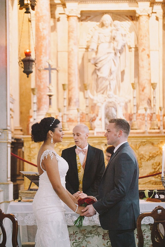 Venice elopement ceremony