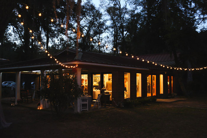 plantation tea room wedding reception