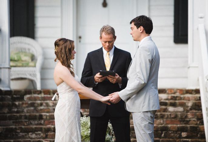 plantation wedding ceremony