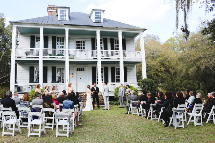 plantation wedding ceremony