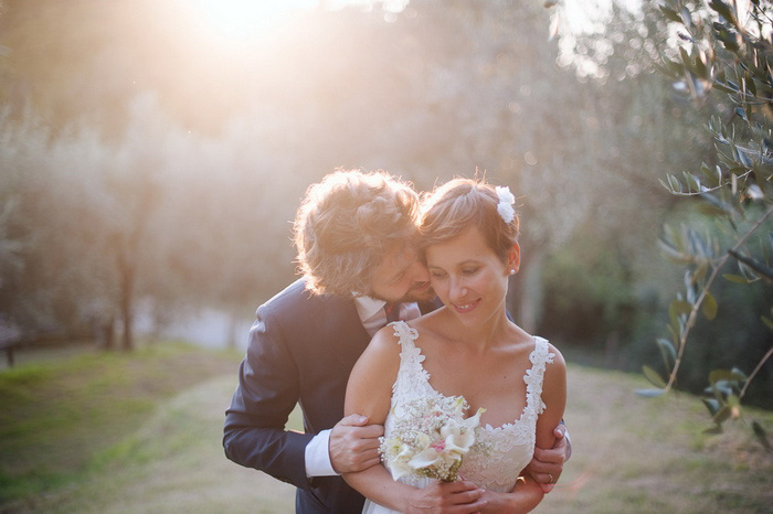 Intimate Tuscany Wedding