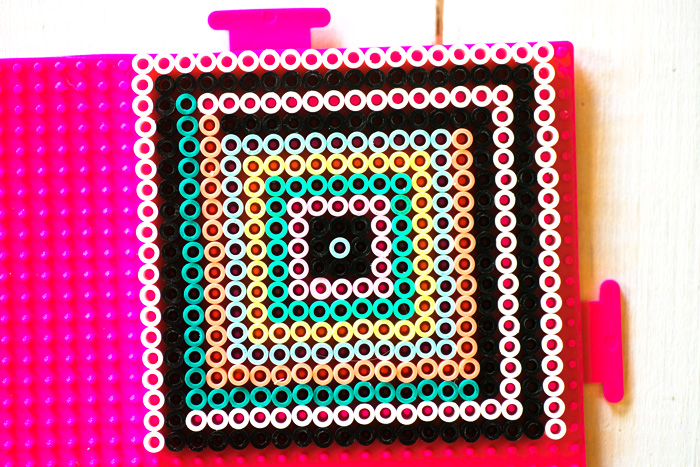 hama bead coaster