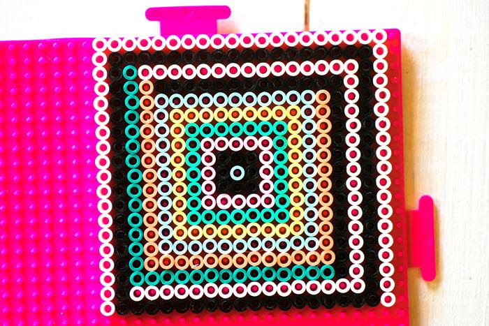 hama bead coaster