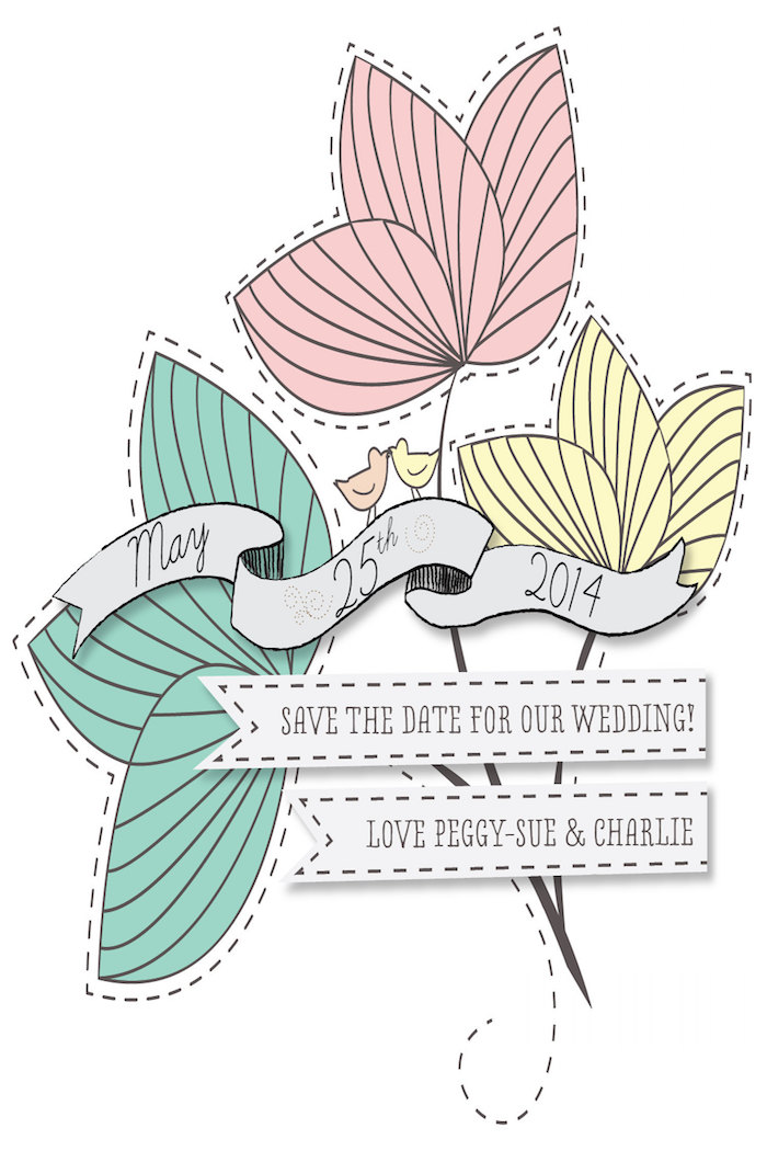 illustrated-floral-pastel-save-the-date