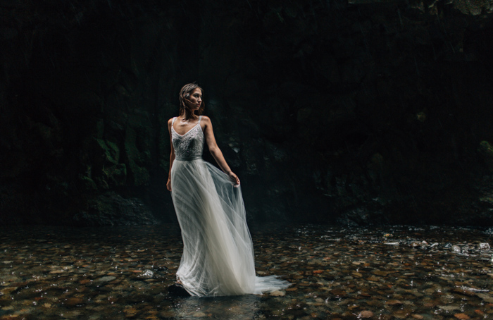 Oregon styled elopement
