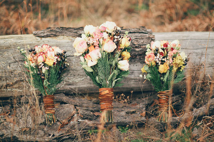 leather-wrapped-bouquets