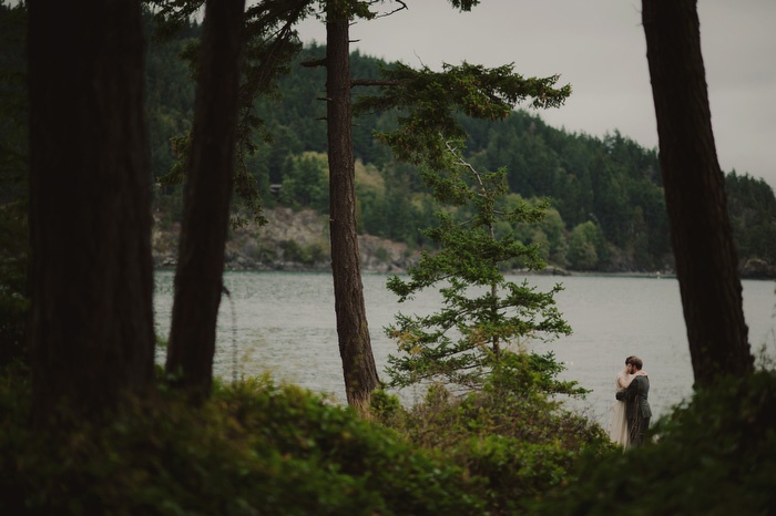 Orcas Island wedding portrait
