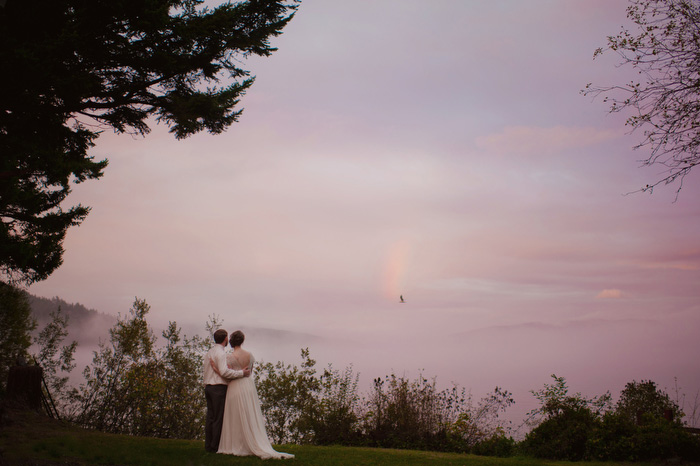 Orcas Island wedding portrait