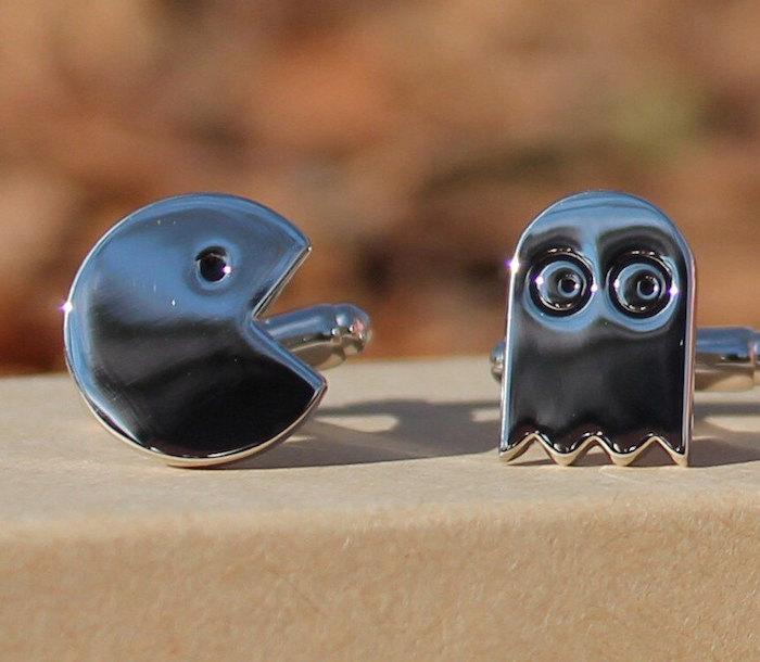 Pacman-cufflinks