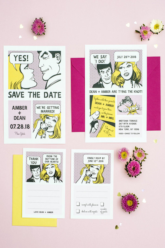 http://www.intimateweddings.com/wp-content/uploads/2015/06/comic-invitation-700x1050.jpg