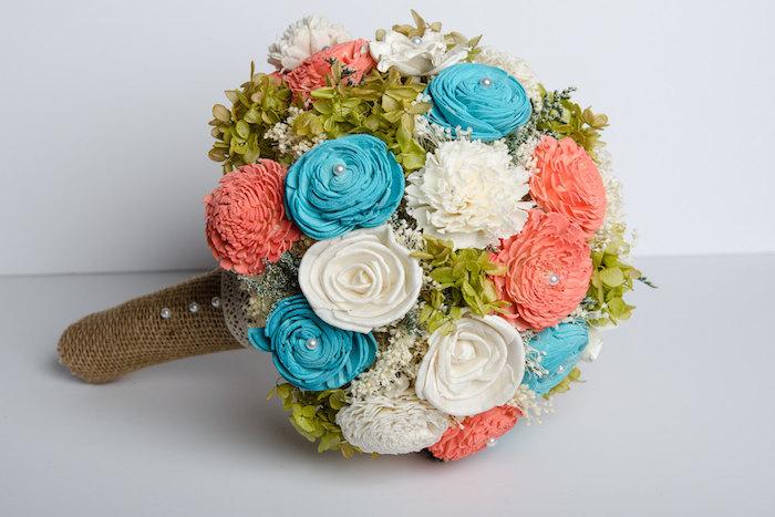 coral-blue-bouquet