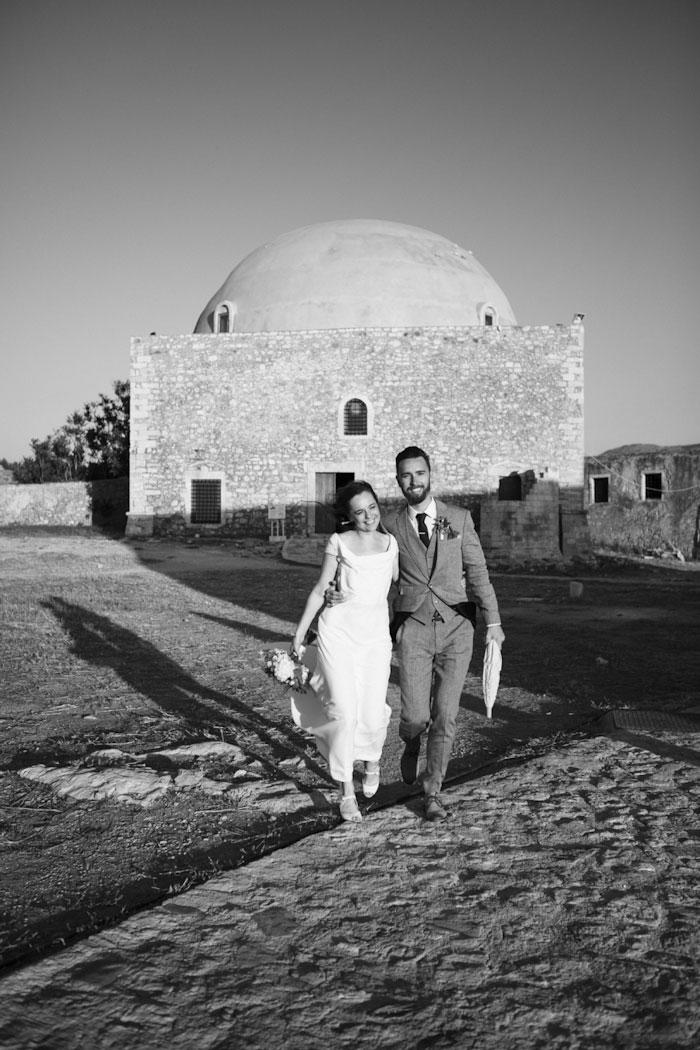 wedding portrait in Crete