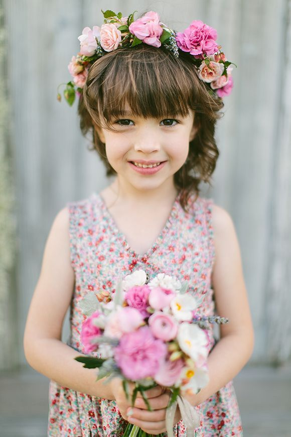 flower girl dress floral