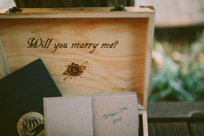 Will you marry me box