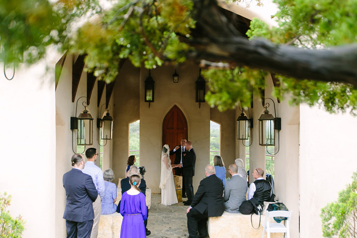 chapel dulcinea wedding ceremony