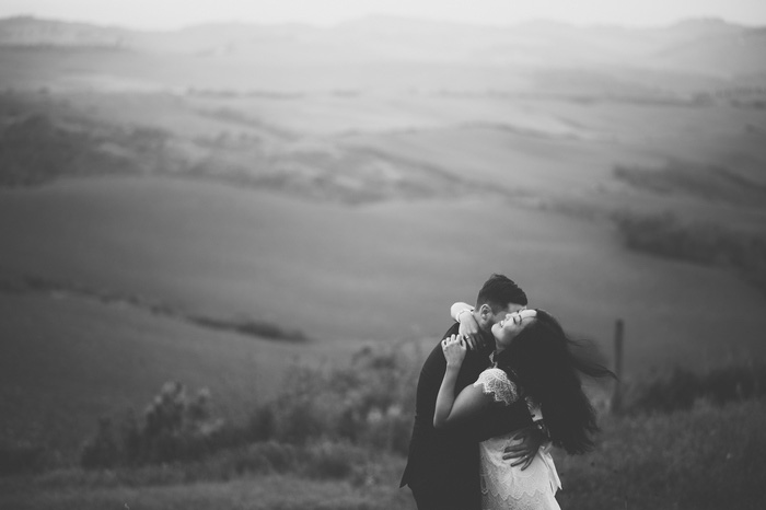 Tuscany wedding portrait