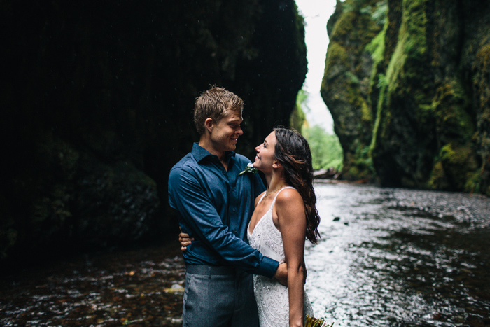 gorge elopement shoot