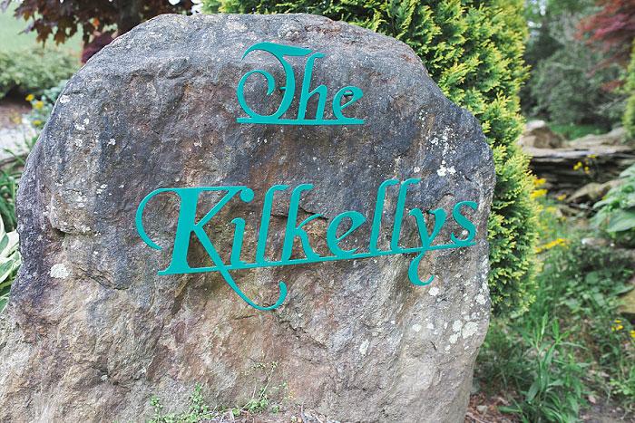 Kilkelly Cabin sign