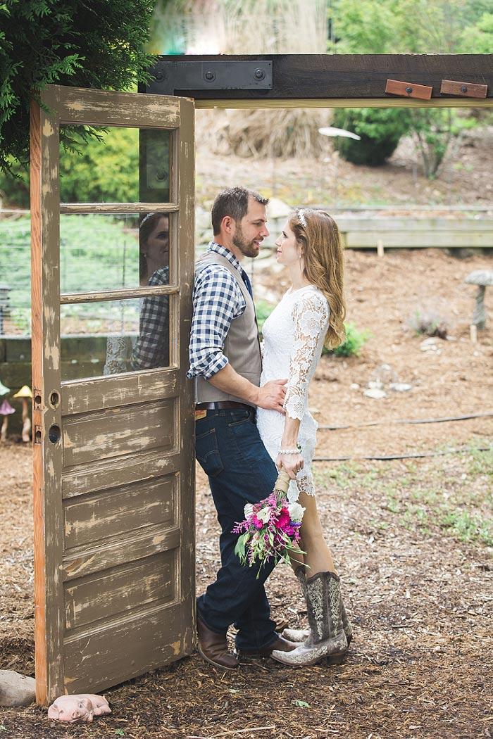 North Carolina elopement portrait