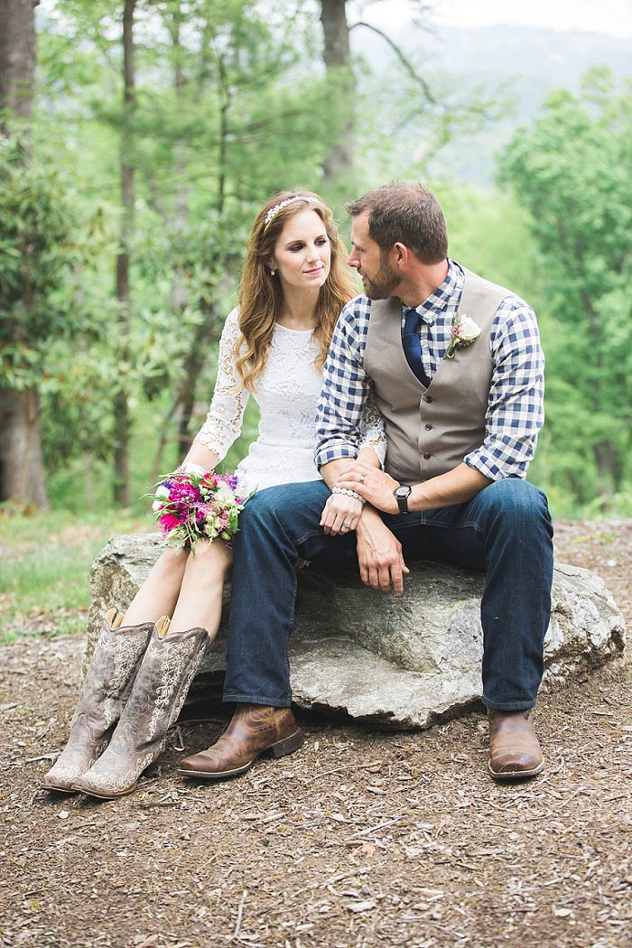 North Carolina elopement portrait