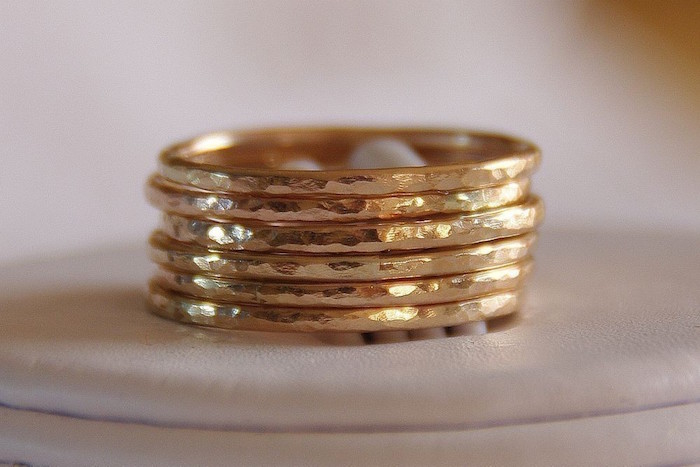 Custom Gold Wedding Bands