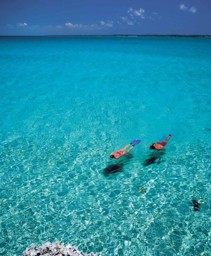 snorkelling bahamas