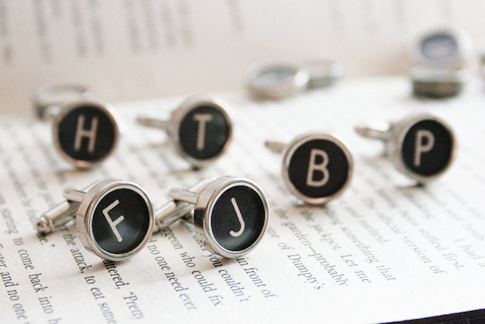 typewriter-cufflinks